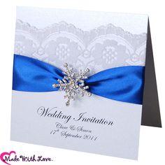 Royal Blue Wedding Invitations Amazing Concept 8 On Invitation Design Ideas Snowflake Invitations, Silver Wedding Invitations, Wedding Invitation Kits, Wedding Invitations Online, Wedding Stationary, Invitation Design, Card Wedding, Decor Wedding, Wedding Ideas