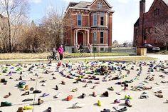 Heidelberg Project by Tyree Guyton, Detroit
