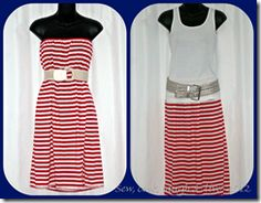 No pattern required beach dress/maxi skirt.  The dress would b so cute with a denim jacket!