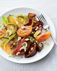 Tomato Salad with Pickled Walnuts and Blue Cheese  - Celebrity Chefs' Fourth of July Recipes from Food & Wine