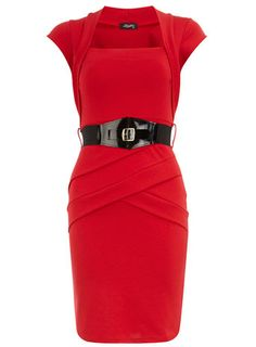 Red panelled dress       Price: $59.00      Color: RED      Item code: 32000064