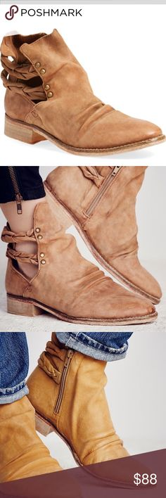 👢NWT, NIB FREE PEOPLE LANDSLIDE BOOTIE, 8.👢 👢BRAND NEW WITH BOX. THIS IS THE LANDSLIDE BOOTIE BY FREE PEOPLE IN THE SOFTEST LEATHER IF EVER FELT. THEY LOOK LIKE COWBOY BOOTS BUT CUTER. THIS IS A FABULOUS DEAL~ THESE ARE CURRENTLY SELLING FOR OVER $180!! GET THEM HERE FOR A FRACTION OF THAT!👢 FREE PEOPLE  Shoes Ankle Boots & Booties