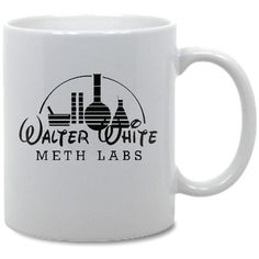 Breaking Bad Walter White Meth Lab Coffee Mug on Etsy, $8.19
