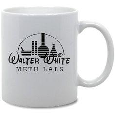 Breaking Bad Walter White Meth Lab Coffee Mug on Etsy, $8.19