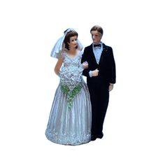 "Wedding cake topper couple 6"" - Novios para pastel 6"" by productosmexicanos on Etsy"