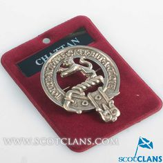 Chattan Clan Crest Badge