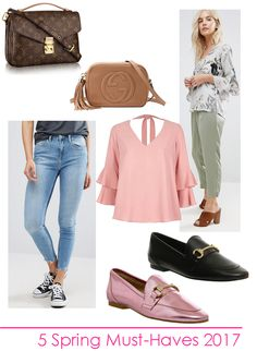 Find out more about the 2017 Spring Fashion Must-Haves, 5 items you need in your wardrobe this spring, Gucci Loafers, Blush Pink, Gucci Soho Disco Bag, Louis Vuitton Pochette Métis Dressy Summer Outfits, Spring Work Outfits, Loafers Outfit, Gucci Loafers, Trendy Fashion, Fashion Outfits, Womens Fashion, Soho Disco Bag, Spring Fashion 2017