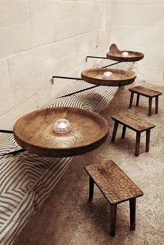 Rustic coffee shop decoration ideas 46 - Savvy Ways About Things Can Teach Us Rustic Coffee Shop, Coffee Shop Design, Small Coffee Shop, Deco Restaurant, Restaurant Design, Restaurant Seating, Bohemian Restaurant, Restaurant Interiors, Design Hotel