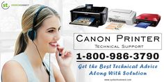 Confronting with technical hindrances while using #Canon #printer! Systechconnect's #CanonPrinterTechnicalSupport , 1800-986- 3790 backs you in this way. Here you can share your issues to get appropriate solution. http://www.systechconnect.com/canon-printer-tech-support.php