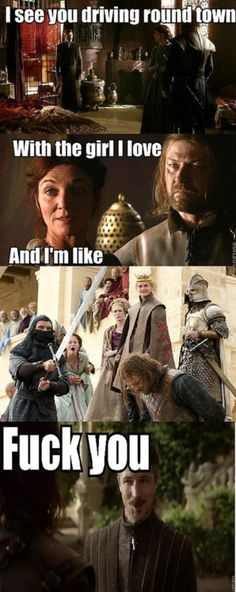 #gameofthrones Cee-Lo telling it like it is in the land of Westeros.
