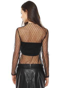 Fully Sheer Women Mesh Net Shirt Fully sheer mesh shirt, net design, long sleeves, light transparent mesh fabric with net lines. Street Look, Street Style, Transparent Shirt, Sheer Tops, Mesh Netting, Sheer Shirt, Best Wear, Skin So Soft, Second Skin