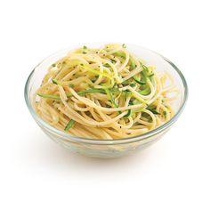 Spaghettis aux courgettes et fines herbes - 5 ingredients 15 minutes