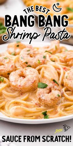 Shrimp Pasta Sauce, Shrimp Sauce Recipes, Shrimp Pasta Dishes, Creamy Shrimp Pasta, Creamy Pasta Recipes, Seafood Pasta Recipes, Shrimp Recipes For Dinner, Seafood Dinner, Creamy Sauce For Pasta