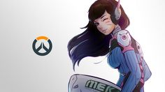 You are currently viewing Overwatch game with tags of D.Va, Game Girls, 3840×2160.    5