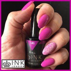#inklondonilac #inklondonnails #acrylicnails #acrylink #gelpolish #purplepinknails