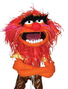 Animal...for my friend, Henry!  Urban legend says he was the inspiration for this Muppet!