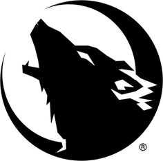 Best wolf logo I've seen. Most are pretty ugly. Wolf Tattoos, Tribal Wolf Tattoo, Wolf Silhouette, Lobo Tribal, Animal Drawings, Art Drawings, Natur Tattoos, Snapchat Stickers, Wolf Wallpaper