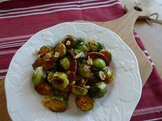 Kapow! Kung Pao Brussels Sprouts — The Kitchen Witch