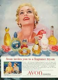 Old fashioned Avon advert.