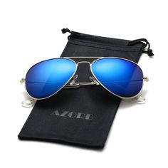 8e3f25f2ac Classic Polarized Aviator Sunglasses Metal Frame with UV400 Protection for  Men Women. Polarized Aviator SunglassesUvb RaysMirrored SunglassesLens Lentils