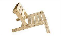 Pallet Adirondack Chair - Helsingin Helmeksi: Siwan Takapiha