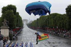 bastille day, images | Bastille Day features Paris parade, but no presidential garden party