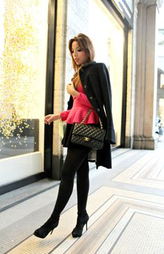 elisa bellino www.theladycracy.it -f,elisa bellino www.theladycracy.it -4, fashion blogzine milano, fashion bloggers italy, choies dress, chanel 2.55, laduree macarons , outfit milano, black coat, fashion., coco chanel,