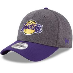 New Era Los Angeles Lakers Heathered 39THIRTY Flex Hat #lakers #nba #lalakers
