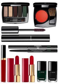 Chanel Numeros Rouge Libre Collection Holiday 2017, праздничная коллекция макияжа Chanel 2017