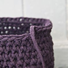 For this pattern You Need: *1 ball of Yarn, (I use Ribbon XL, You can buy it here) or in My Etsy Shop. It is perfect for these baskets! But You can also use Zpagetti Yarn which You can buy in My Et…