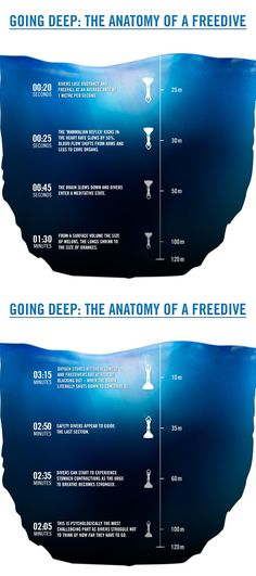 What happens to your body during a freedive to 100m? http://win.gs/1k7j3Fx #freediving #adventure #diving