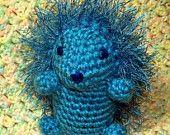 Plush Hedgehog -  DunnWithLove on Etsy.