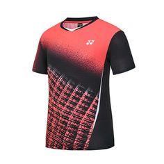 Yonex 2018 S/S Collection Men's Badminton Round T-Shirts Coral NWT 81TS027MCO #YONEX