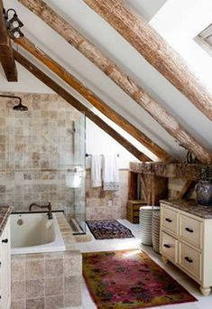 Gorgeous 60+ Incredible Ideas to Add Rustic Style To Bathroom https://homegardenmagz.com/60-incredible-ideas-to-add-rustic-style-to-bathroom/