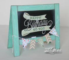 LW Designs: Happy Birthday Chalkboard