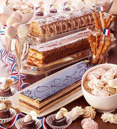 横浜ベイホテル東急で開催されている、ナイトタイム・デザートブッフェ「スィートジャーニー」。5月は「フランス」をテーマに、2017年5月4日(木・祝)から26日(金)まで、毎週木・金曜日限定で開催される... Buffet, Birthday Cake, Sweets, Desserts, Food, Marie Antoinette, Twitter, Life, Style
