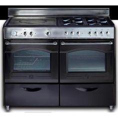 """Cuisinière gaz gamme Bocuse - Encastrable - Table de cuisson 4 foyers gaz + 1 plaque """"coup de feu"""" - Sécurité Thermocouple -  1 four catalyse 50 L ..."""
