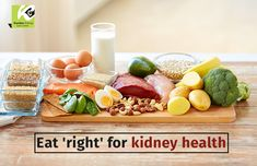 When you eat right foods, your kidneys do not have to work extra to remove waste and fluid from your body. If you have a kidney disease, you may need to limit some foods. Consult your healthcare provider to know what are the right foods for you.    #kidneys #fluid #healthcare #kidneycare #kidneyfunction #kidneydisease