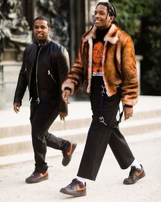 All the Best Street Style From Paris Haute Couture Fashion Mode, Fashion Killa, Asap Rocky Outfits, Black Men Street Fashion, Asap Rocky Fashion, Pretty Flacko, A$ap Rocky, Street Style, Outfits