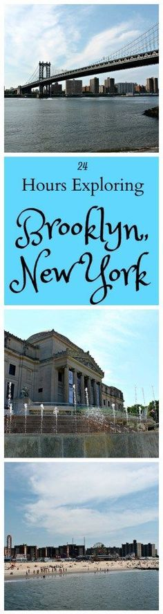 Exploring Brooklyn's neighborhoods from the historical campiness of Coney Island to the modern glitz of DUMBO. http://www.thedailyadventuresofme.com