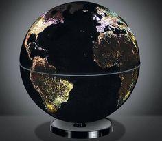 The City Lights Globe, $89.95 #world #globe #night