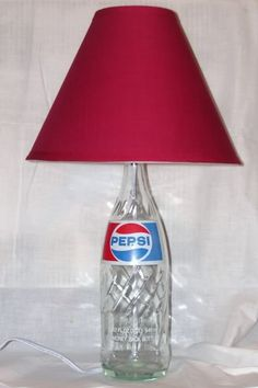 pepsi bottle lamp