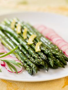 Spring Fresh: Asparagus Salad with a preserved Lemon-Dijon Dressing | MJs Kitchen