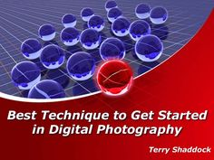 Terry Shaddock: Beginning with digital photography can be entirely overpowering if you have no clue where to begin. Fortunately, there's a lot of free quality data accessible on the web… with the capability of making you a semi-proficient photographer in a matter of weeks. Terry Shaddock has arranged the best photography tips and tutorials found on the web for you. The universe of photography will change when the most substance begins in computer-readable form.