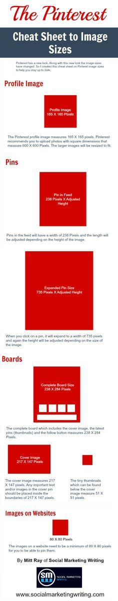 The Pinterest Image Size Cheat Sheet