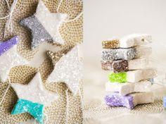 16x Neutrale Kerstdecoraties : 73 best adorn: star ornaments images on pinterest diy christmas