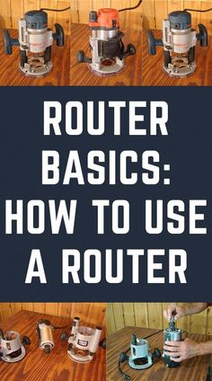 Want to use a router but dont know where to start? Learn how to use a router with these router woodworking techniques and tips. Woodworking Quotes, Woodworking Hand Tools, Woodworking Basics, Router Woodworking, Easy Woodworking Projects, Woodworking Techniques, Woodworking Furniture, Wood Projects, Woodworking Magazine