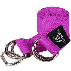 D Ring Waist Cotton Belt Canvas ladies gents Webbing Yoga strap exercise fashion