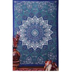 Ussuperstar Boho Psychedelic Elephant Tree of Life Floral Tapestry Hippy Mandala Gypsy Wall Hanging Sheet Coverlet Picnic Blanket Bedspread Curtain Decor Table Couch Cover Beach Yoga Throw M … Sun And Moon Tapestry, Bohemian Wall Tapestry, Elephant Tapestry, Indian Tapestry, Tapestry Design, Tapestry Wall Hanging, Wall Tapestries, Mandala Blanket, Mandalas