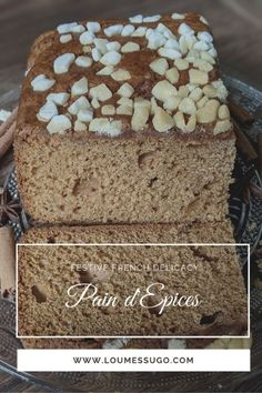 What is Pain d'Epices? Spice Bread, Banana Bread, Gingerbread, Ethnic Recipes, Desserts, Food, Christmas, Tailgate Desserts, Xmas